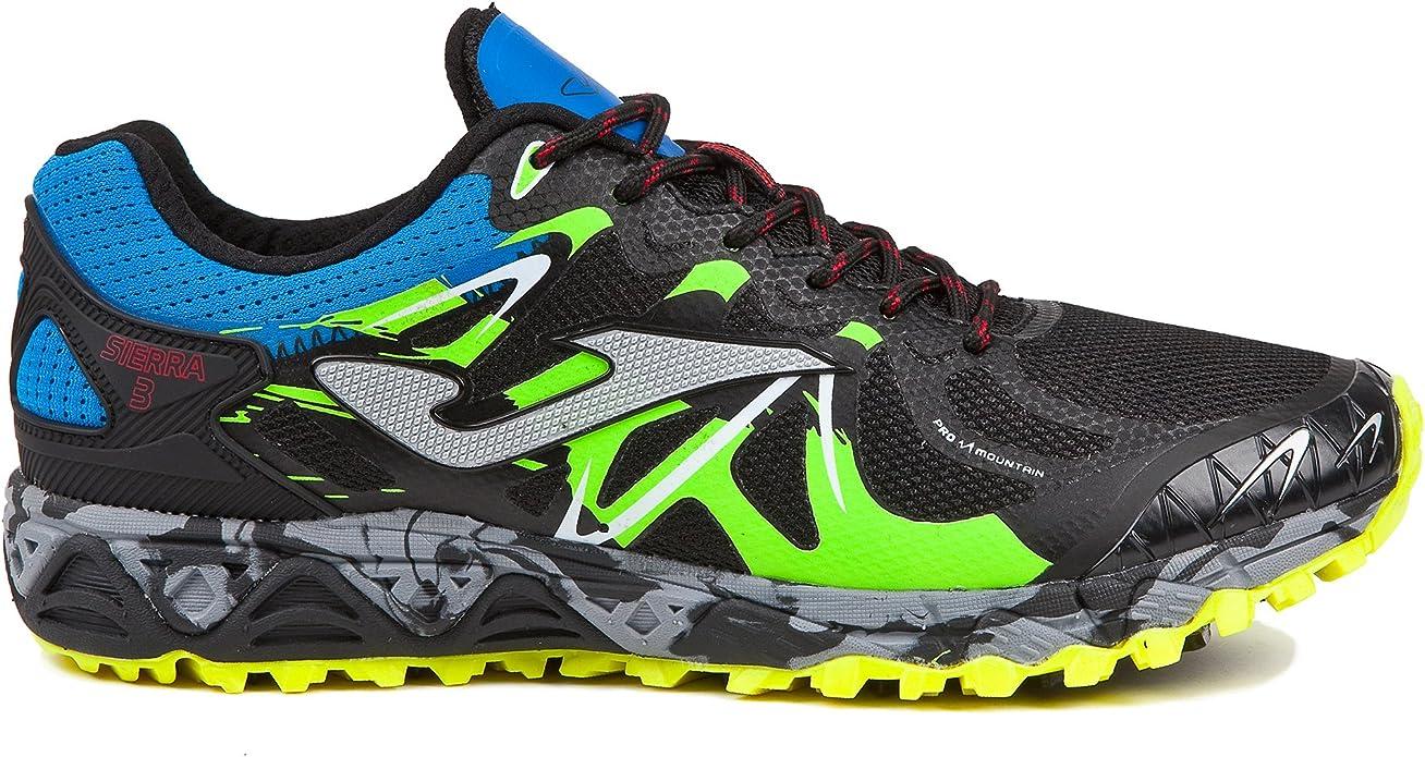 Joma TK. Sierra Men 801 Black aislatex – Scarp Trail Hombre – TK.siers-801 , Multicolor, EU 40.5 - CM 26 - UK 6.5: Amazon.es: Zapatos y complementos