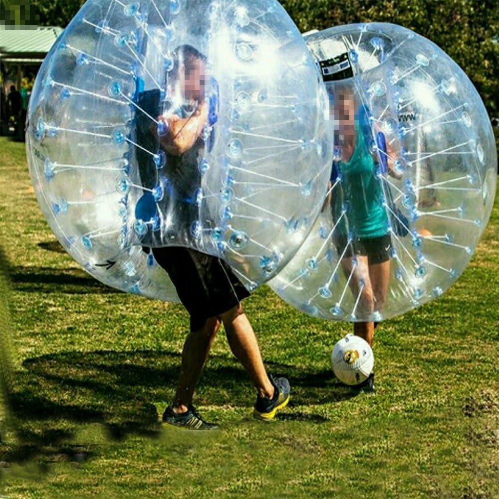 stagersoccer® hinchable Bubble – Balón de fútbol para las Partes actividades negocio de alquiler de diámetro 5 (1,5 m) tamaño adulto azul 1 por caja: Amazon.es: Deportes y aire libre
