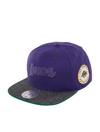 Mitchell & Ness Mujeres Gorras/Gorra Snapback HWC LA Lakers ...