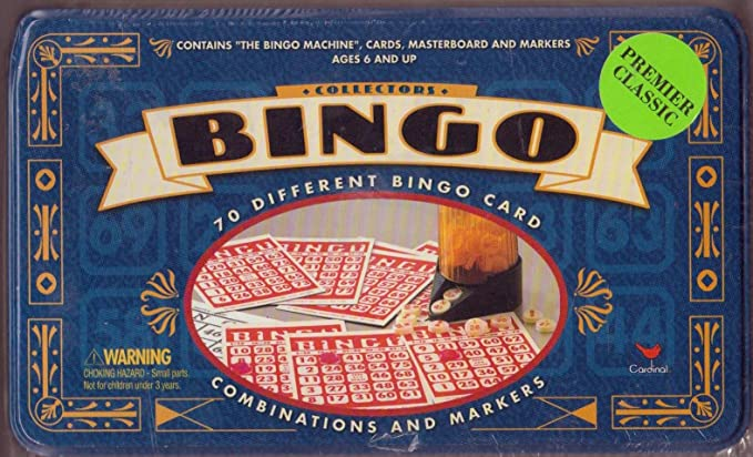 Collectors BINGO in a Tin