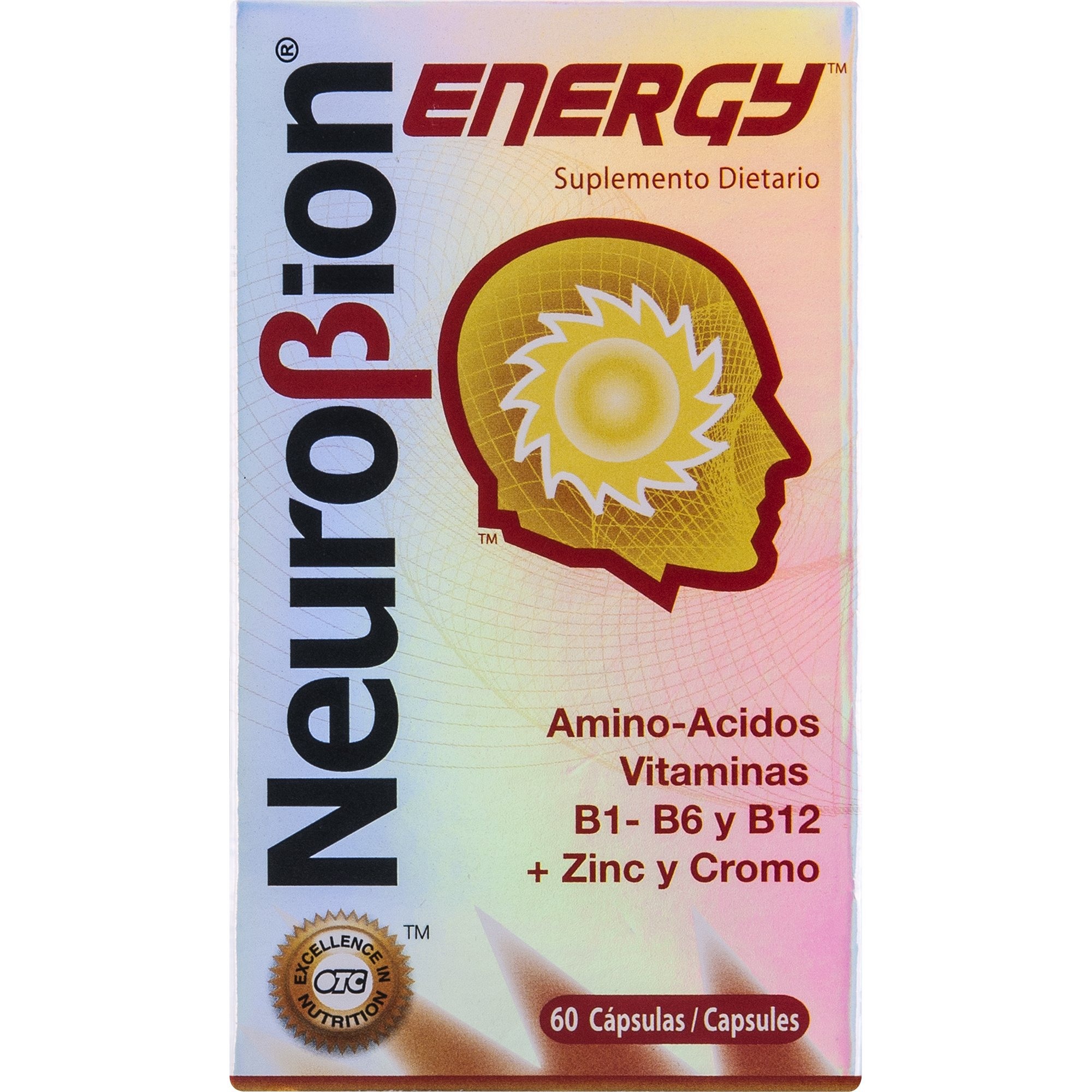 Neurobion Energy 60 Caps. May Help to Increase Energy and Reduce Stress.