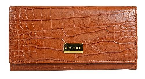 Cross - Cartera para Mujer de Otra Piel Mujer marrón marrón M: Amazon.es: Zapatos y complementos