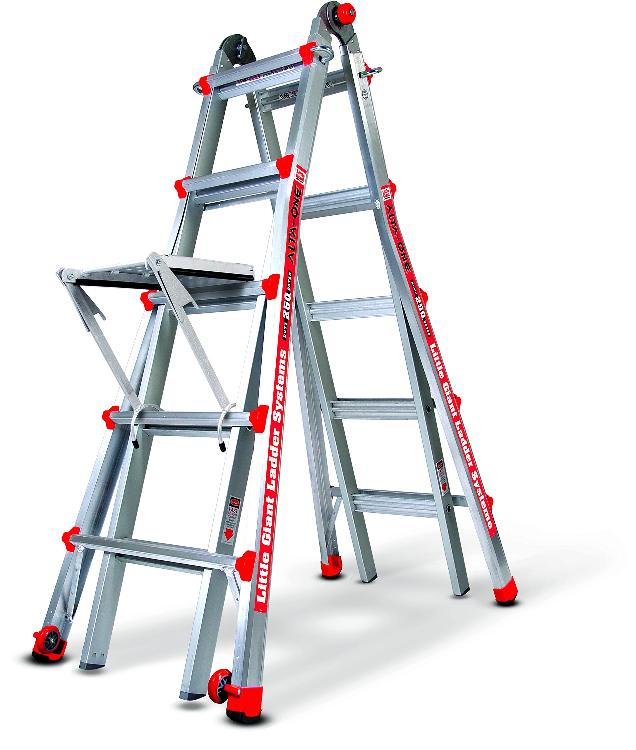 Little Giant Alta One 22 Foot Ladder with Work Platform (250-lb. Weight Rating, Type 1 14016-104) by Little Giant Ladder Systems