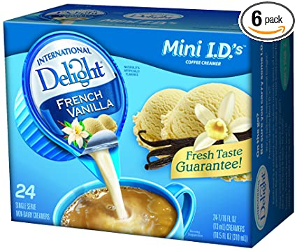 What is nondairy creamer made of?