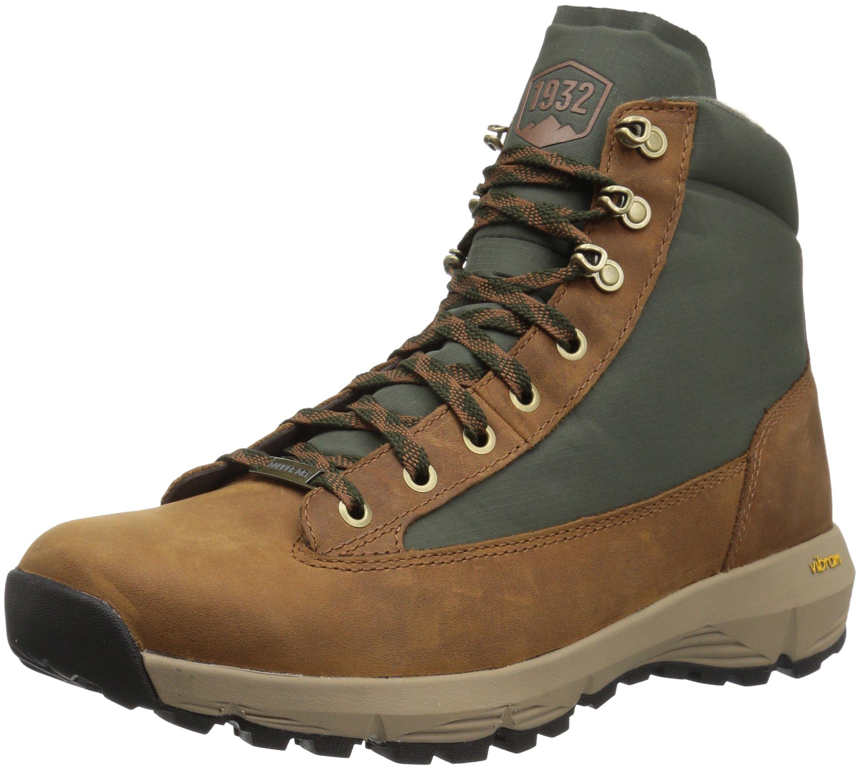 Danner Men's Explorer 650 6'' Full Grain Hiking Boot, Brown/Green - 8 M US