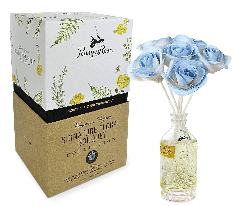 Penny & Rose Sky バラの花のオイルディフューザー ホームフレグランスの香り 農家 OJ B07KBV9Y55