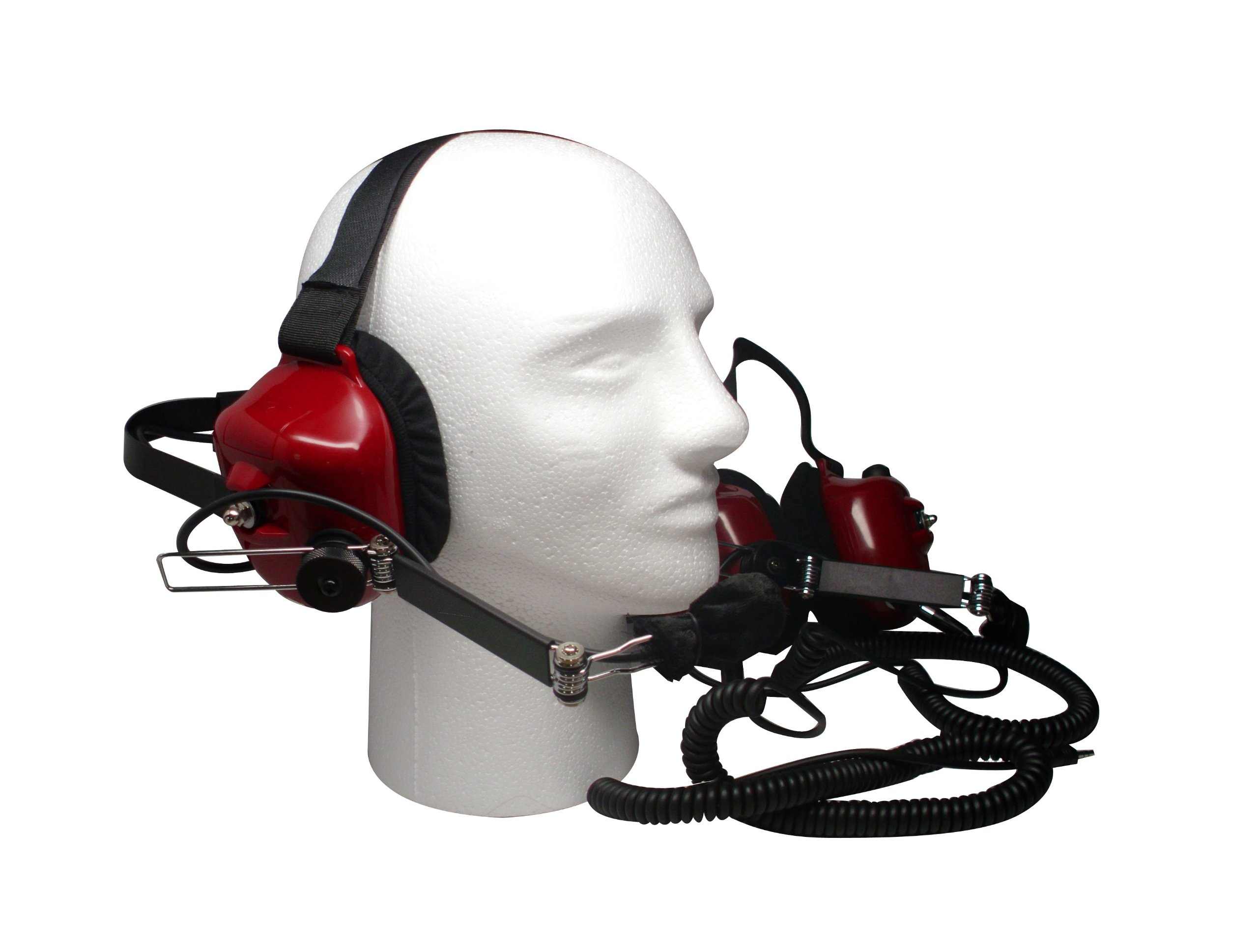 Race Day Electronics Fan Intercom System Two Way Headsets, Red by Race Day Electronics (Image #2)