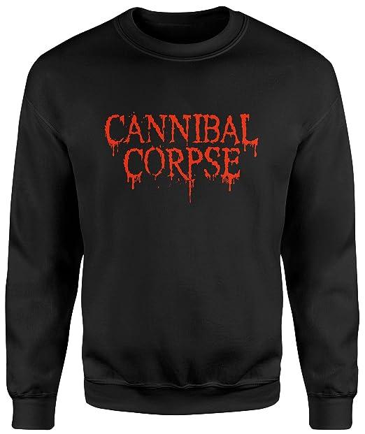 LaMAGLIERIA Sudadera Unisex Cannibal Corpse - Sudadera Set-in: Amazon.es: Ropa y accesorios