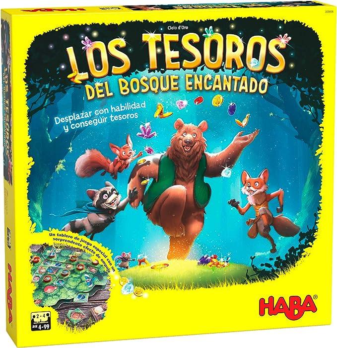 HABA - Los Tesoros del Bosque Encantado-ESP Juego de Mesa (Habermass H305606A): Amazon.es: Juguetes y juegos