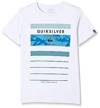 Quiksilver SS ClassicYouth Stringer - Camiseta para niño, color blanco, talla M: Quiksilver: Amazon.es: Deportes y aire libre