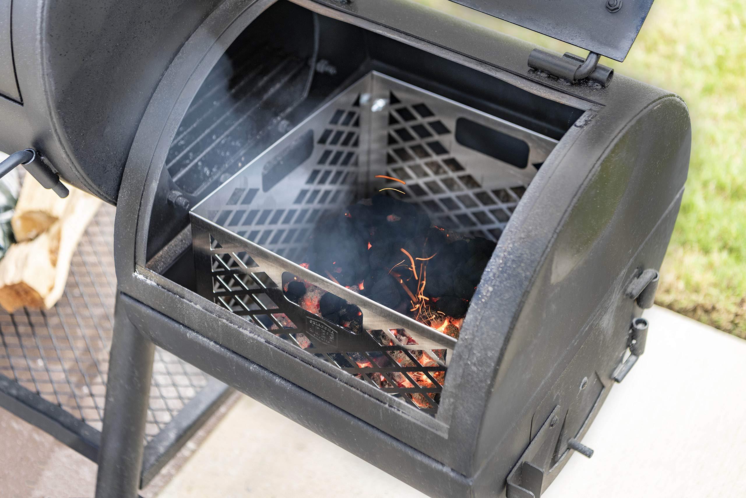 Oklahoma Joe's 5279338P04 Firebox Basket, Silver by Oklahoma Joe's (Image #6)