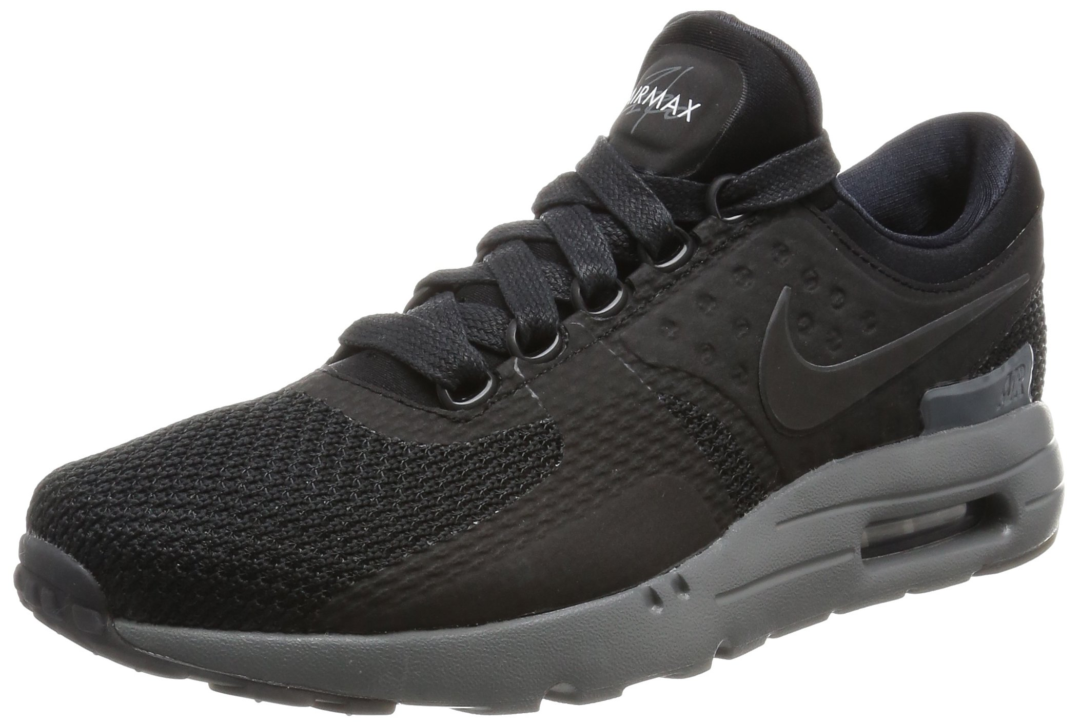Nike Air Max Zero QS Mens Running Trainers 789695 Sneakers Shoes (UK 6 US 7 EU 40, Black Dark Grey 001)