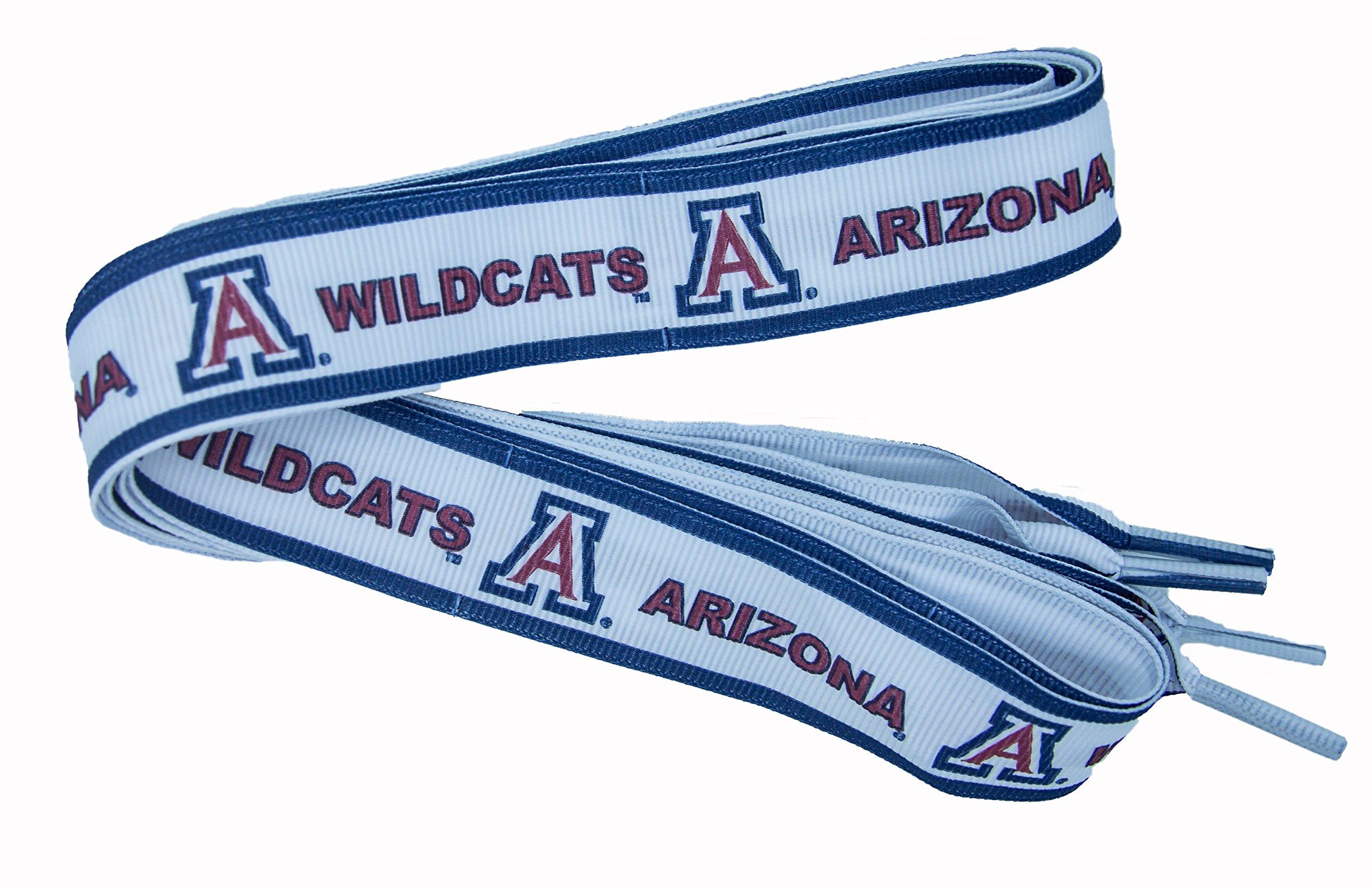 NCAA Arizona Wildcats Shoelace, Navy/Red/White, One Size
