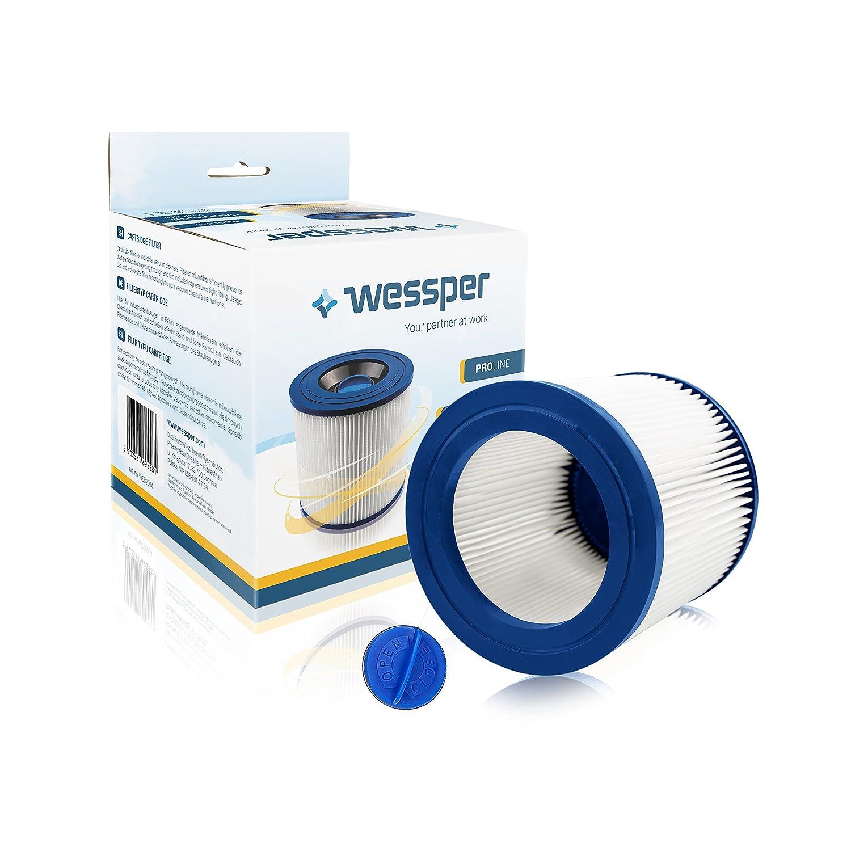 ✧WESSPER® Cartouche filtrante pour aspirateur Kärcher NT 27/1 Me Advanced Professional (Pour usage sec)