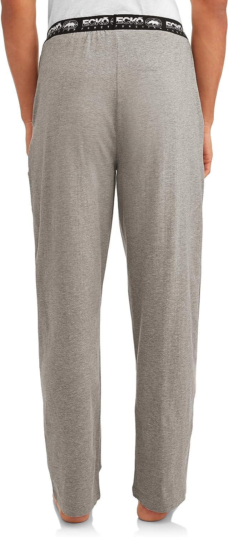Grey X-Large Ecko Unlimited 5/% Spandex Moisture Wicking Pajama Pant 95/% Cotton Function Knit Sleep Pant Men/'s Sleepwear