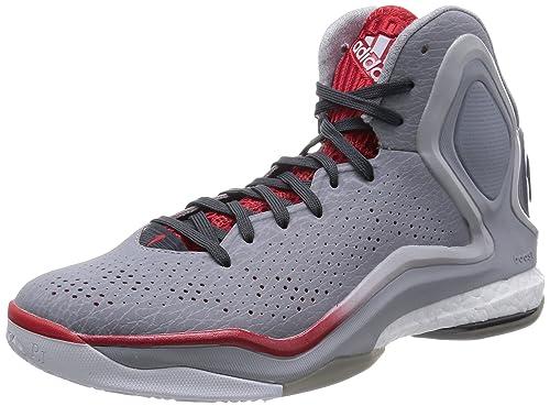 talla 40 c217d 5af17 Adidas D Rose 5 Boost Hombres Tenis/Tenis de baloncesto-Grey ...