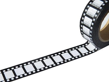 Retro Camera Film Washi Tape 15mm X 10 metres roll: Amazon.co.uk ...