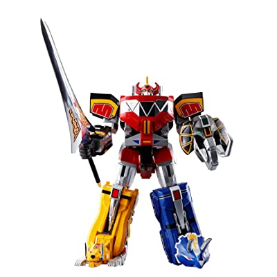 Bandai Tamashii Nations Soul of Chogokin Mighty Morphing Power Rangers Action Figure: Toys & Games