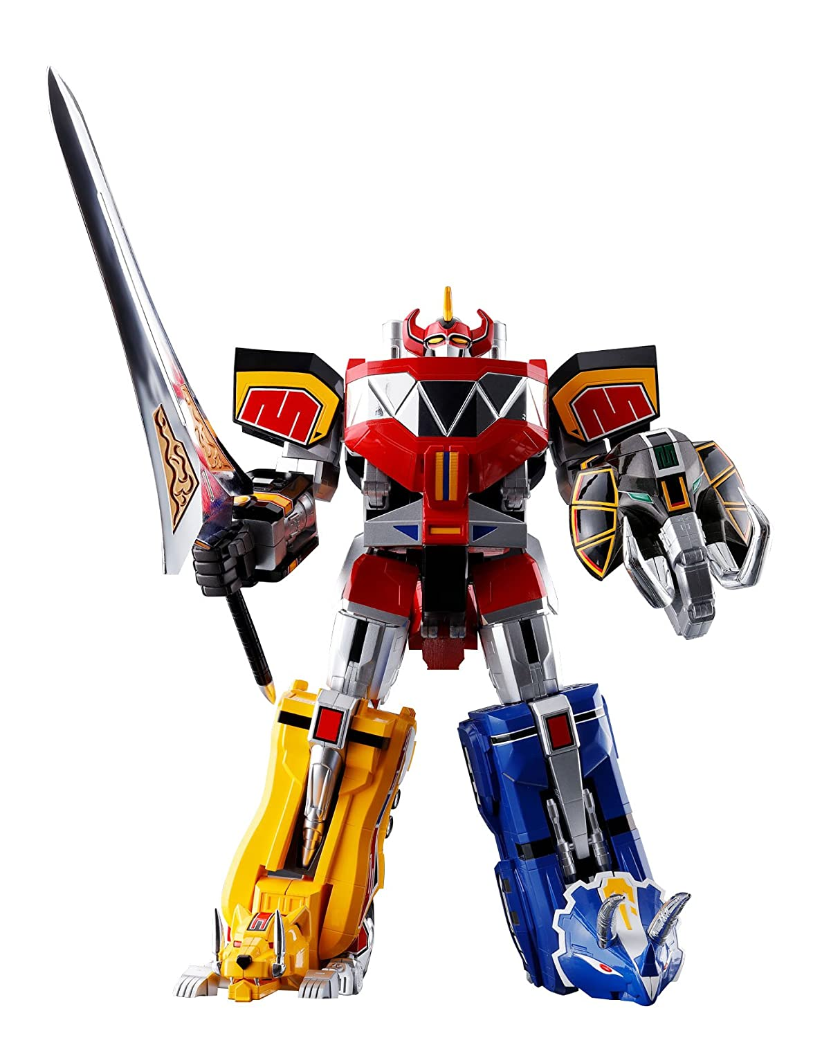 TAMASHII NATIONS- Soul of Chogokin Mighty Morphing Power Rangers Figura de acción (BLVAO BAN05218)
