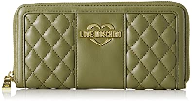 84612304fb46 Amazon.com  Love Moschino Portafogli Quilted Nappa Pu