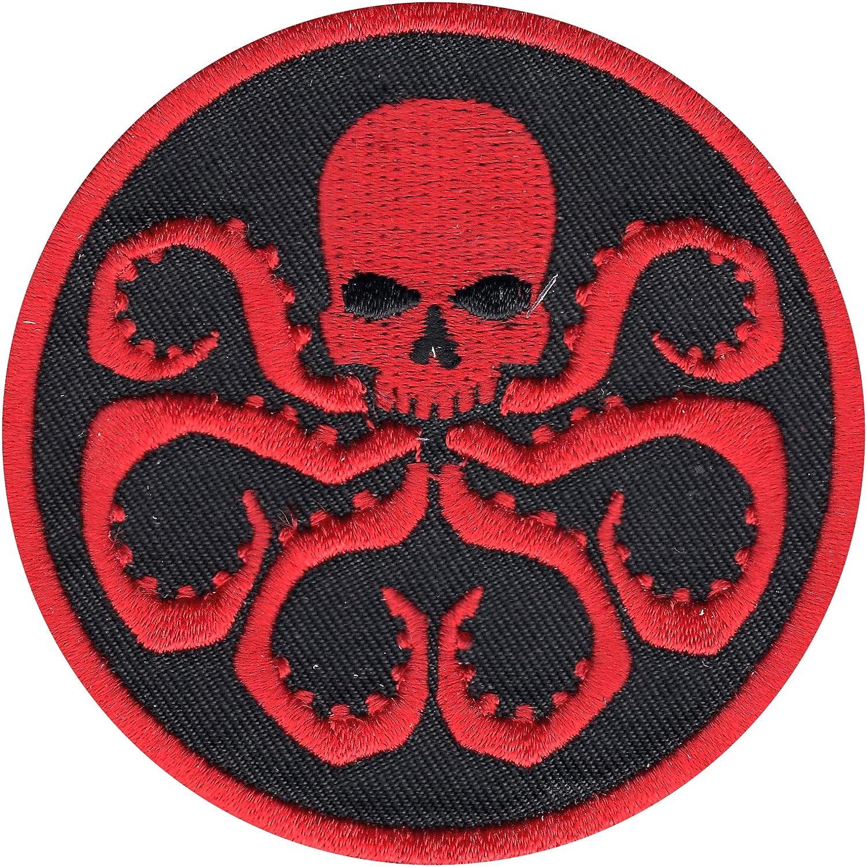 Official Marvel Comics Hydra Symbol Crest Iron on Applique Patch