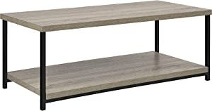 Ameriwood Home Elmwood Coffee Table, Weathered Oak