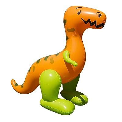 BANZAI T-Rex Terror Mondo Sprinkler: Toys & Games