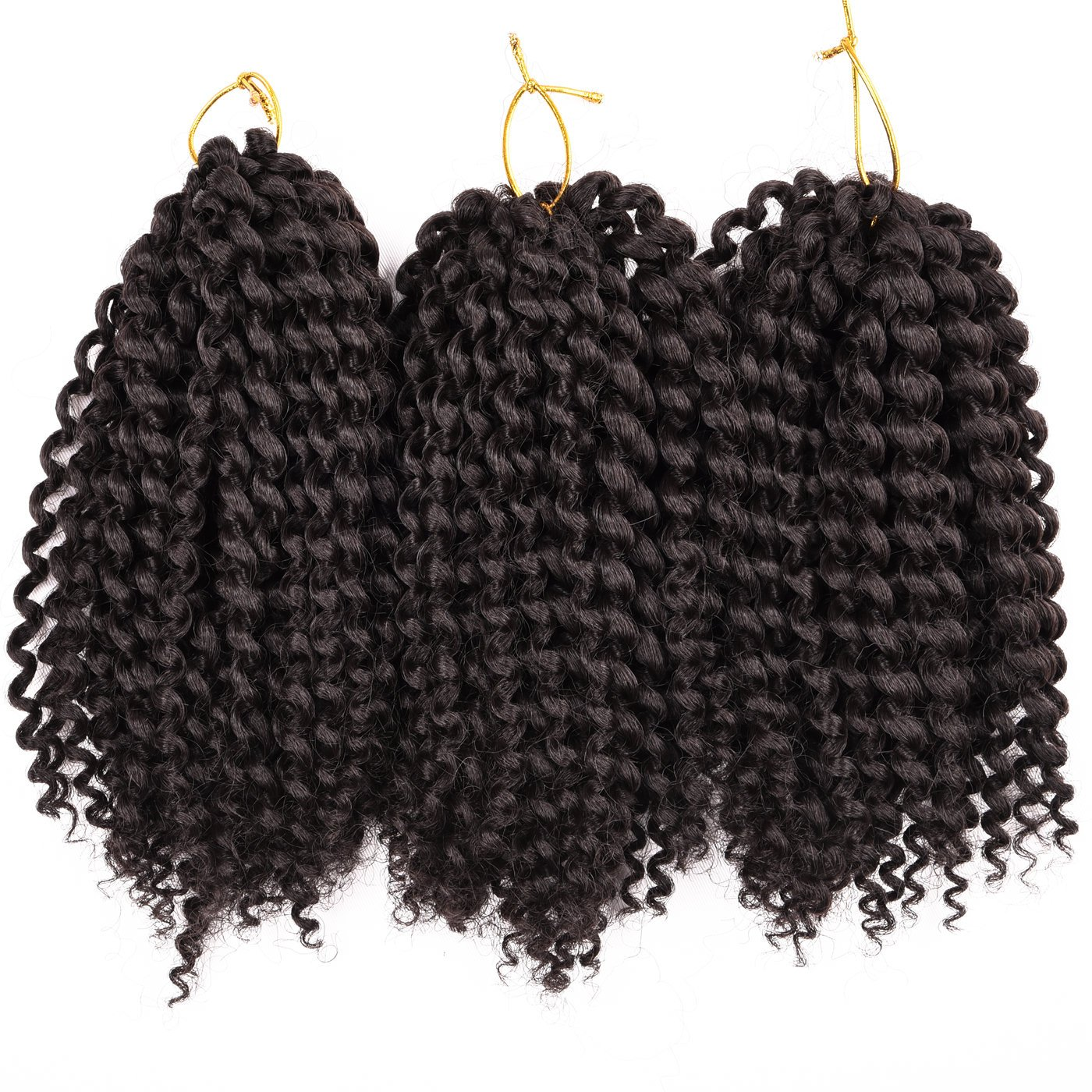 Amazon 3 packs jamaican bounce wand curl crochet hair premium 3 bundlespack marlybob kinky curl crochet hair 8 crochet braids synthetic pmusecretfo Choice Image