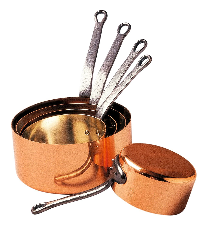 Baumalu 201020 Series of 5 Special Gas Cookware Diameter: 12 cm to 20 cm