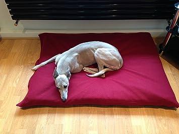 kosipet® Vino Polar mediano romboide Memory Foam Pad Deluxe impermeable cama para perro, camas