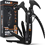 RAK Hammer Multi-Tool - Multi-Functional 12 in 1 Mini Hammer Camping Gear Survival Tool - Unique Tool Gift for Men, DIY…