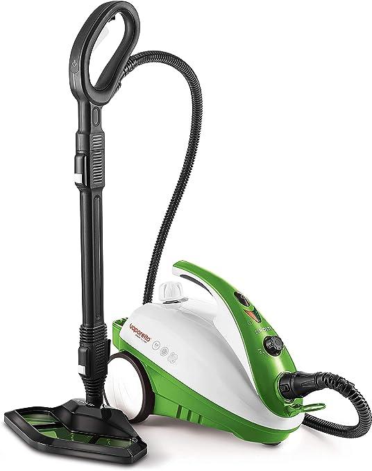 Polti Vaporetto Smart 35 Mop Limpiador a Vapor con Cepillo Vaporforce, Caldera de Alta Presión de 3.5 Bar, 1800 W, 1.6 litros, plástico, Acero Inoxidable, Verde: Amazon.es: Hogar