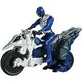 Power Rangers Dino Charge - Moto transformación, color azul (Bandai 42073)