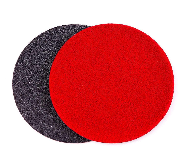 GP100 Abrasive Disc for Glass Scratch Repair 115mm pack of 10 discs 4.5 inch MEDIUM GRADE