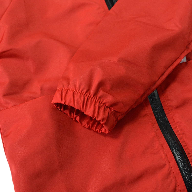 KISBINI Boys Kids Hooded Windproof Zipper Jackets Coats Windbreakers Raincoats