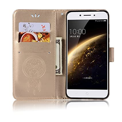 best sneakers 3d007 932f7 Nokia 5 Leather Case, Nokia 5 Wallet Case, PU Leather Embossed ...