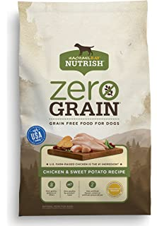Amazoncom Rachael Ray Nutrish Zero Grain Natural Dry Dog Food
