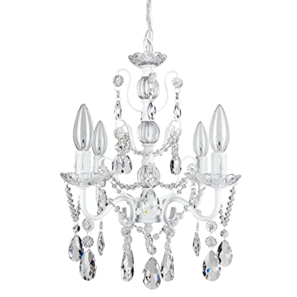 madeleine white crystal chandelier mini swag plug in glass pendant Ceiling Fans with Lights Wiring-Diagram image unavailable