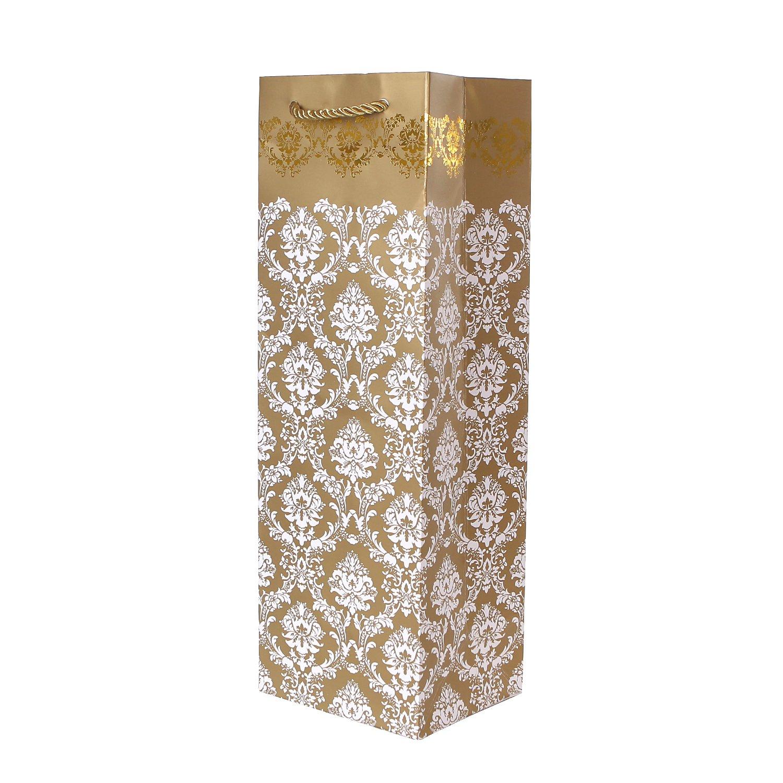 cava y champ/án 36x12x10 Paquete de 10 pieces de bolsos de la botella nobles bolsos de regalo negro para vino