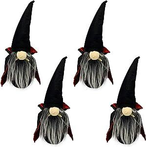 Tenozek 2/4/8-Pcs Halloween Gnomes Decorations, 9.8