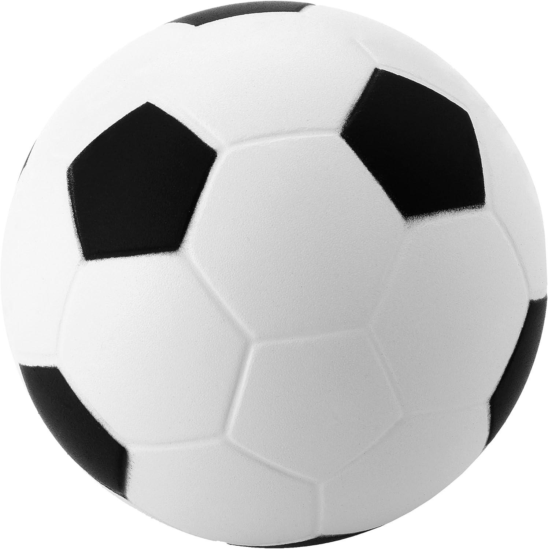 Bullet - Pelota de fútbol antiestrés (6 cm) (Blanco/Azul): Amazon ...