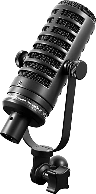 Blucoil BCD1 Dynamic Mic Live Broadcasts Podcasting Vocal Recording Bundle New