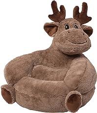 Trend Lab Children's Plush Chair, Moose