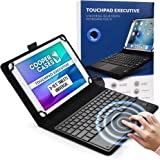"""Cooper Touchpad Executive [Multi-Touch Mouse Keyboard] case for 9-10.5"""" Tablets   Universal Fit   iPadOS, Android, Windows  """