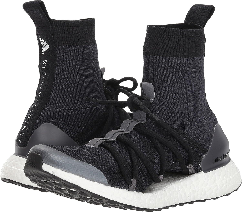 adidas by Stella McCartney Women's Ultraboost X Sneakers B07D7QP85Q 8.5 B(M) US Black/Night Grey/Night Stone Grey