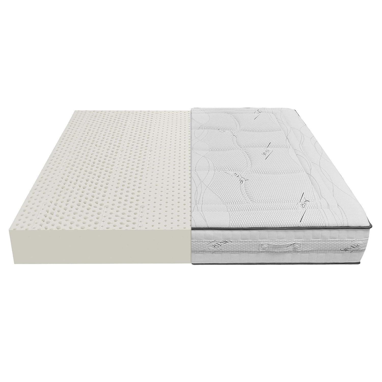 Baldiflex Materasso Lattice Singolo 85×190 cm Alto 20 cm con 7 Zone a Portanza Differenziata e Fodera in Tessuto Silver Care Sfoderabile Antiacaro e Traspirante Prezzi offerte