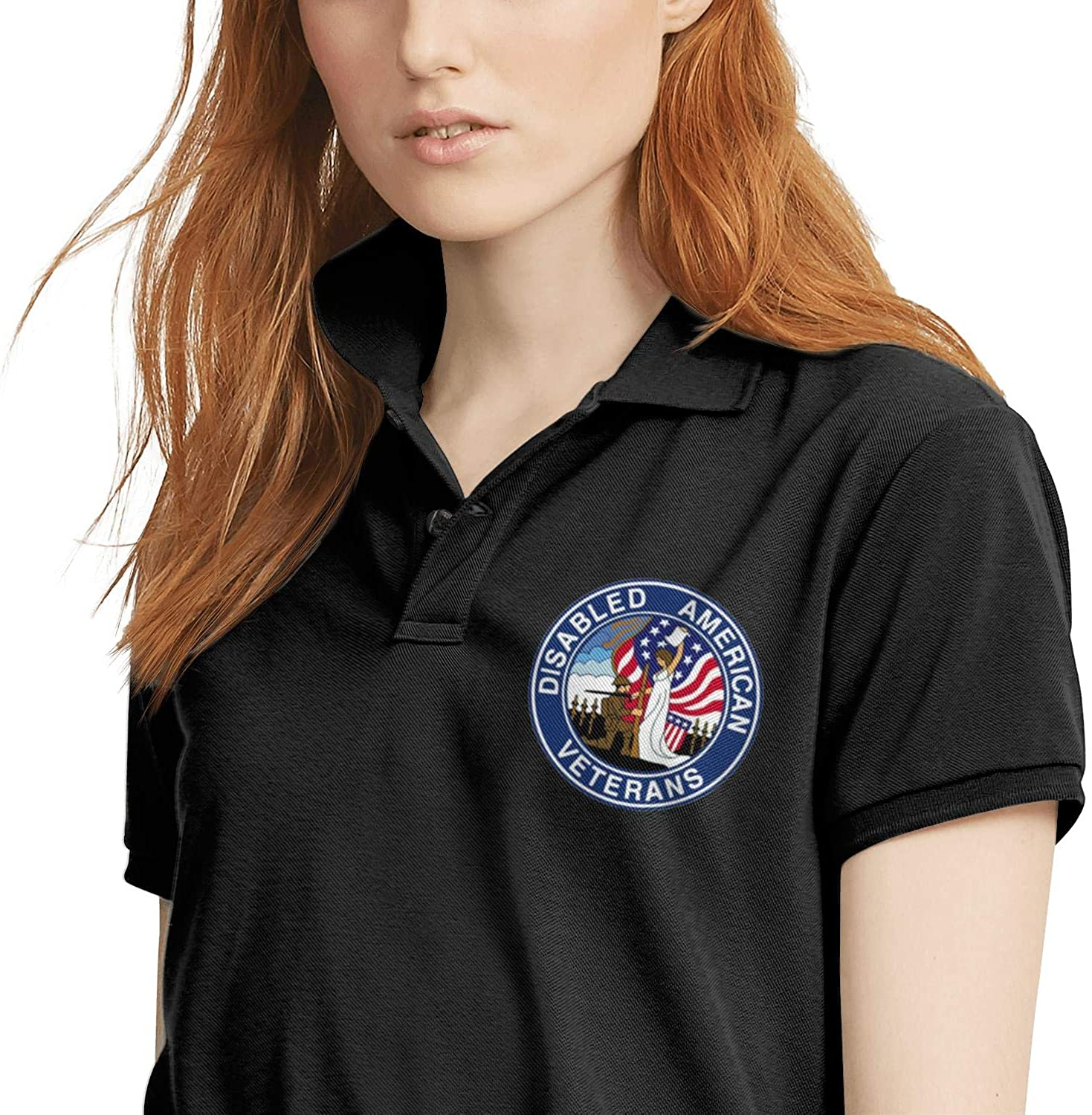 Department of Defense Womens t-Shirt Polo Shirt Cotton Cool t Shirt Outdoor Summer Soft and Comfortable Short Sleeve Tops