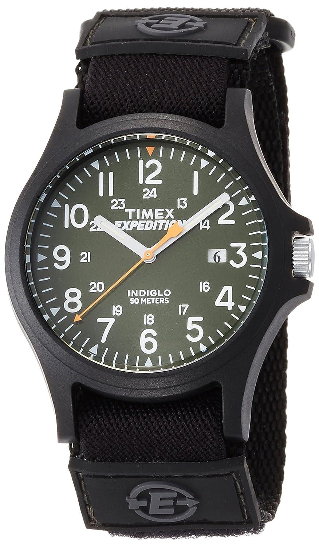 [タイメックス]TIMEX アーカディア 40mm オリーブグリーンダイアル ブラックナイロンストラップ TW4B00100 メンズ 【正規輸入品】 B018HXVUGO
