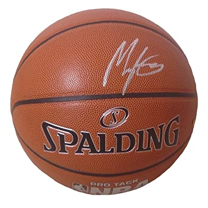 cf3300069436 Indiana Pacers Myles Turner Autographed Hand Signed NBA Spalding Basketball  with Proof Photo of Signing and