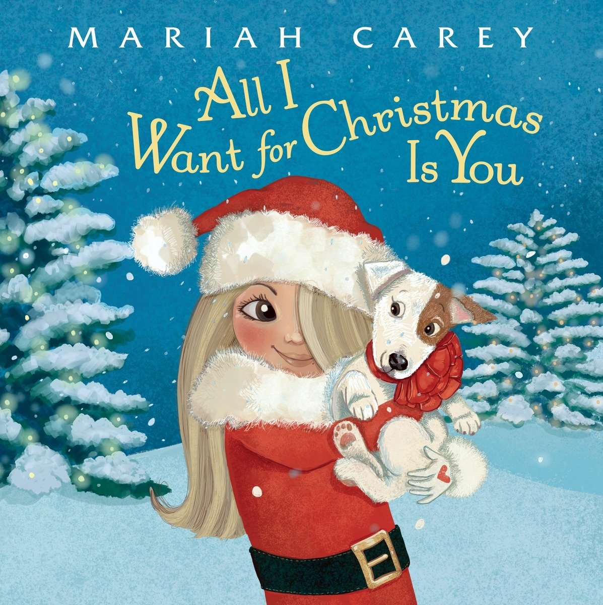 All i want for christmas is you mariah carey colleen madden all i want for christmas is you mariah carey colleen madden 9780399551390 amazon books kristyandbryce Choice Image